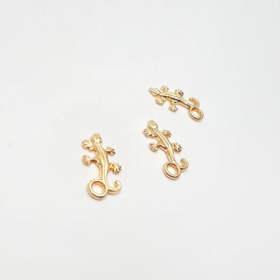 40pcs Charm Tibetan silver gecko lizard jewelry pendants pendant 24mm