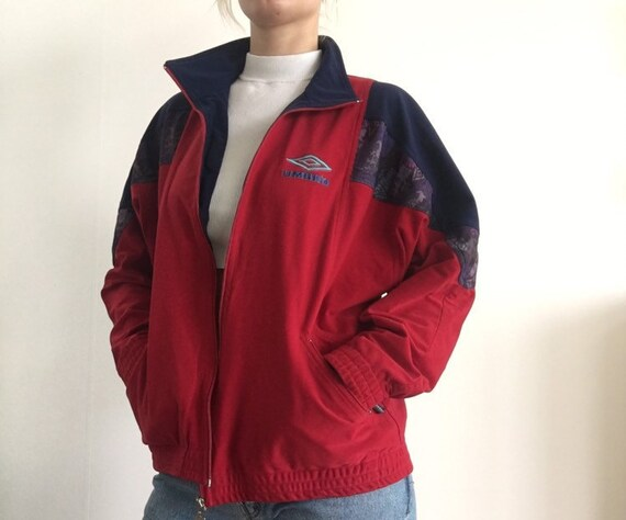 Nike black grey red sports jacket windbreaker Tracksuit 00s 90s Track Jacket Vintage mens Streetstyle Sportswear size L large