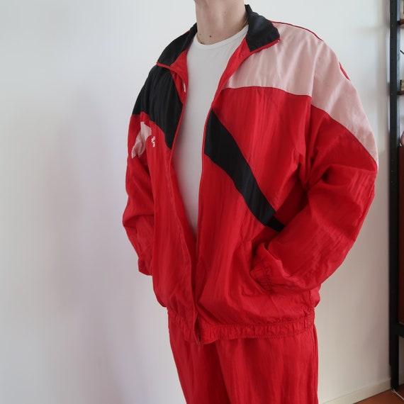 Reebok nylon tracksuit 90s 00s trackpant vintage s