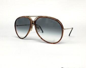 467c6c926ca6a NOS PORSCHE Design by CARRERA 5632 vintage sunglasses Full Set Austria 80s  Large