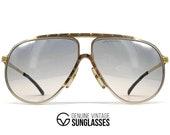 Vintage ALPINA M1 Gold sunglasses - 80 39 s W.Germany - ORIGINAL - Rare collectors item