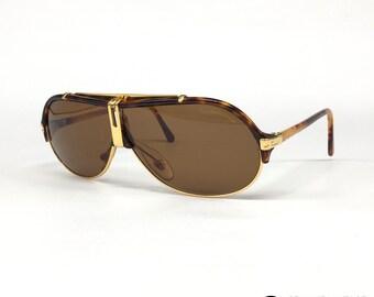75e90137f357e3 NOS Dérapage FDM2 C03-zeldzame vintage zonnebrillen 80s-Italie-medium