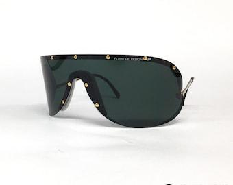 00912885b6e5 NOS Porsche Design by Carrera 5640 vintage sunglasses - Small - Austria -  80's - YOKO ONO