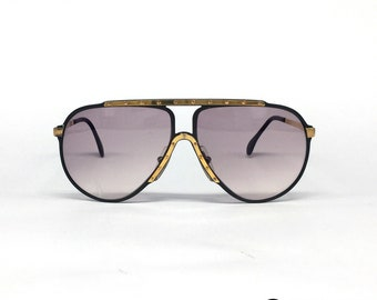 383715ee6f ALPINA M1 Gold vintage sunglasses made in West Germany 80 s STEVIE WONDER