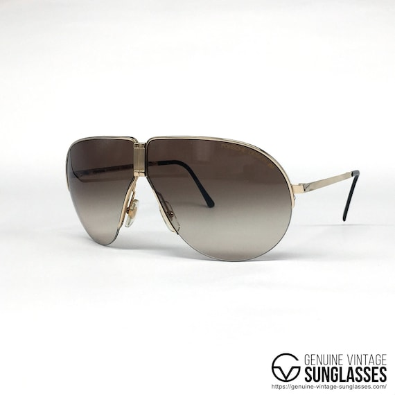 8fa27060b6a NOS Porsche Design by Carrera 5628 Golden vintage sunglasses