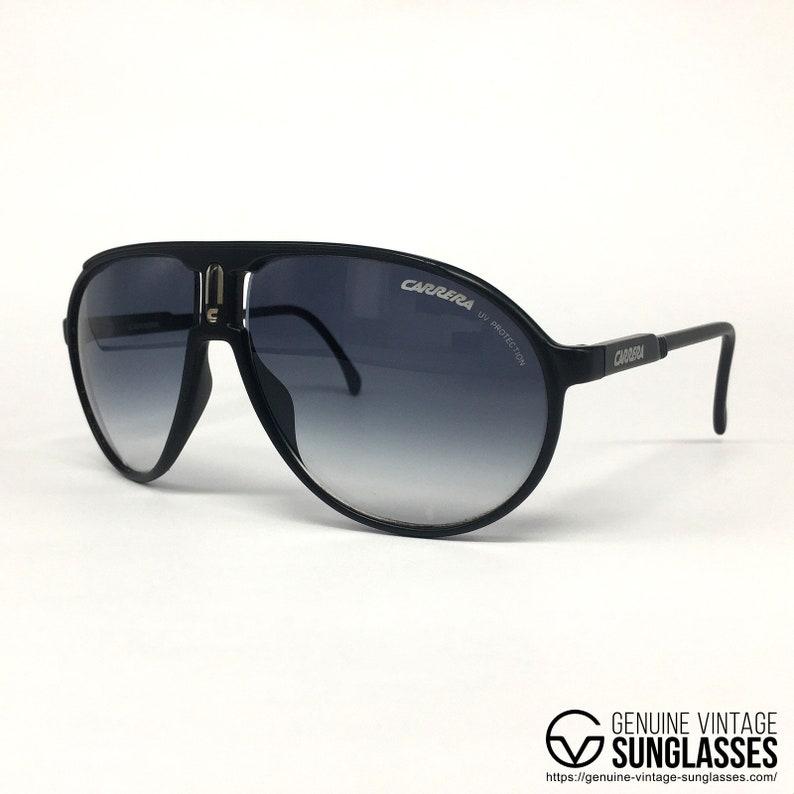 f40cc6de0ff0 NOS Carrera Champion Black Series sunglasses | Etsy