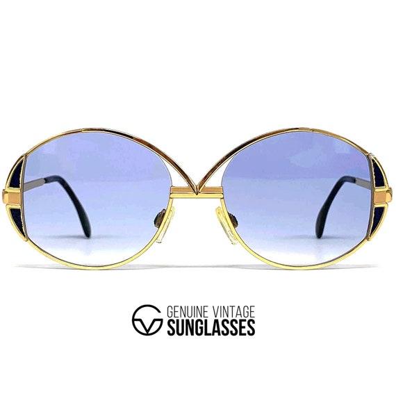 "Vintage CAZAL 241 ""GOLD"" sunglasses - W.Germany '8"