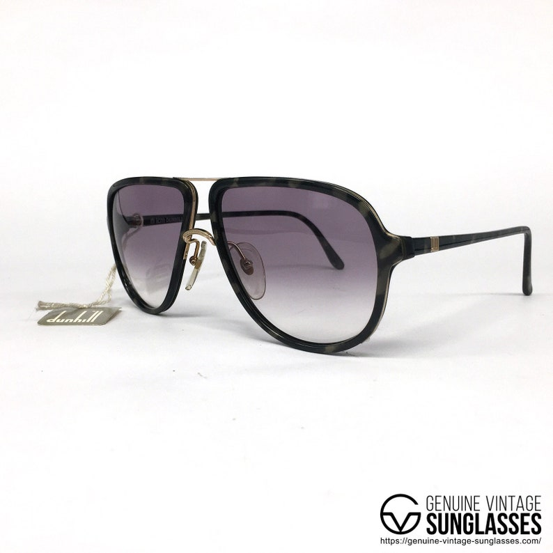 f960ee786059b NOS Dunhill 6058 RARE lunettes de soleil vintage Autriche 80