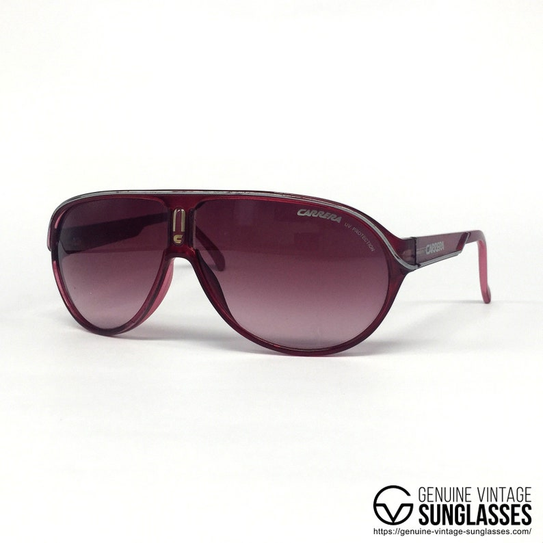 412c4f1526f1 Carrera Jocker T Pink sunglasses ORIGINAL Vintage   Etsy
