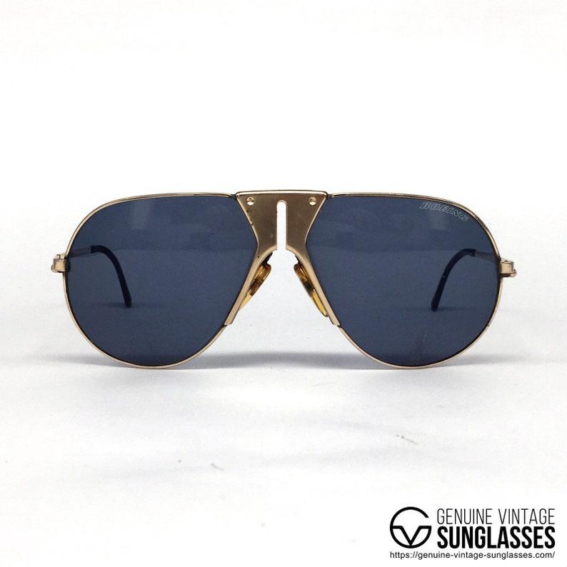 e17bce7a985e8 Carrera   Boeing 5701 Golden rare vintage sunglasses Austria