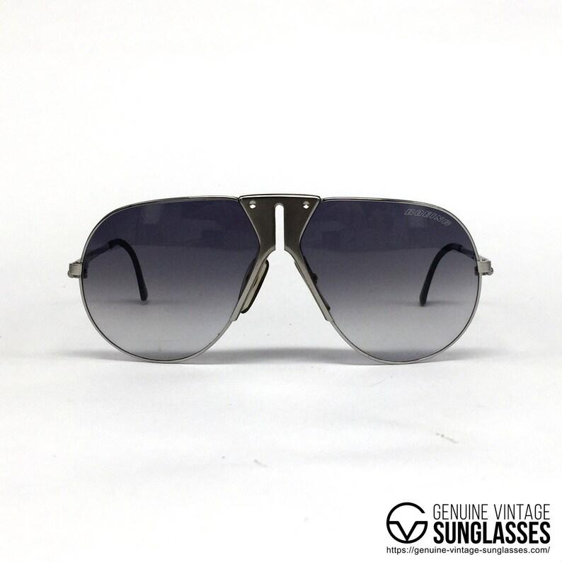 bcd0422097ba8 NOS Carrera   Boeing 5701 Silver rare vintage sunglasses