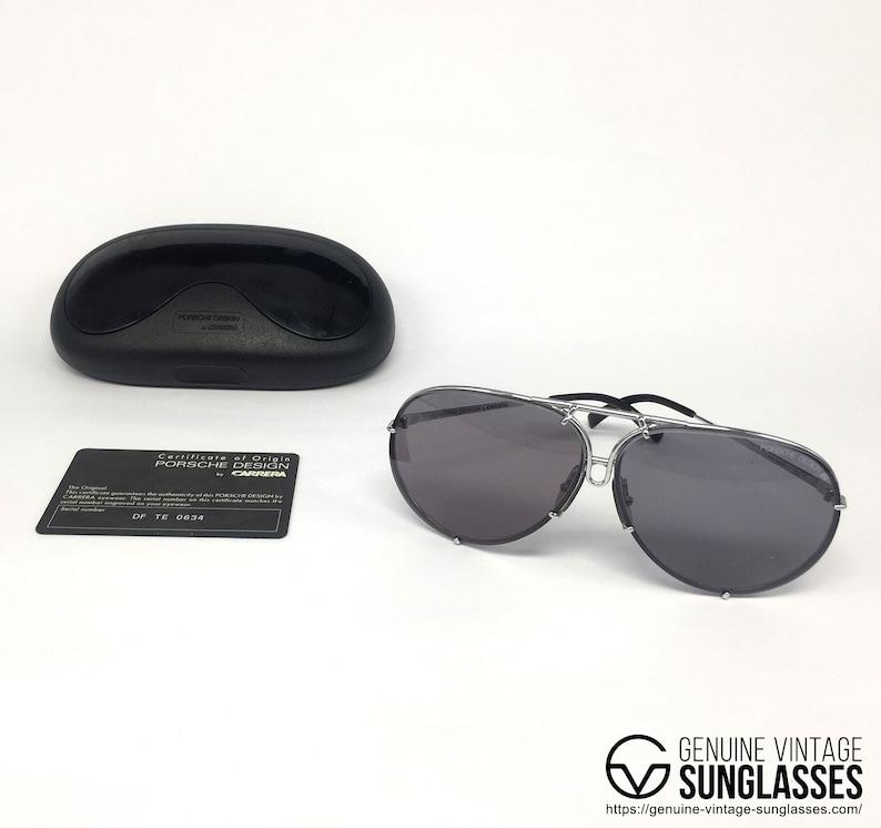 2af41548e965 NOS Porsche Design by Carrera 5623 Silver vintage sunglasses