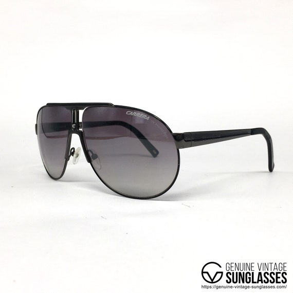 d642c8a641 NOS Carrera PANAMERIKA sunglasses black Italy 90 s Large