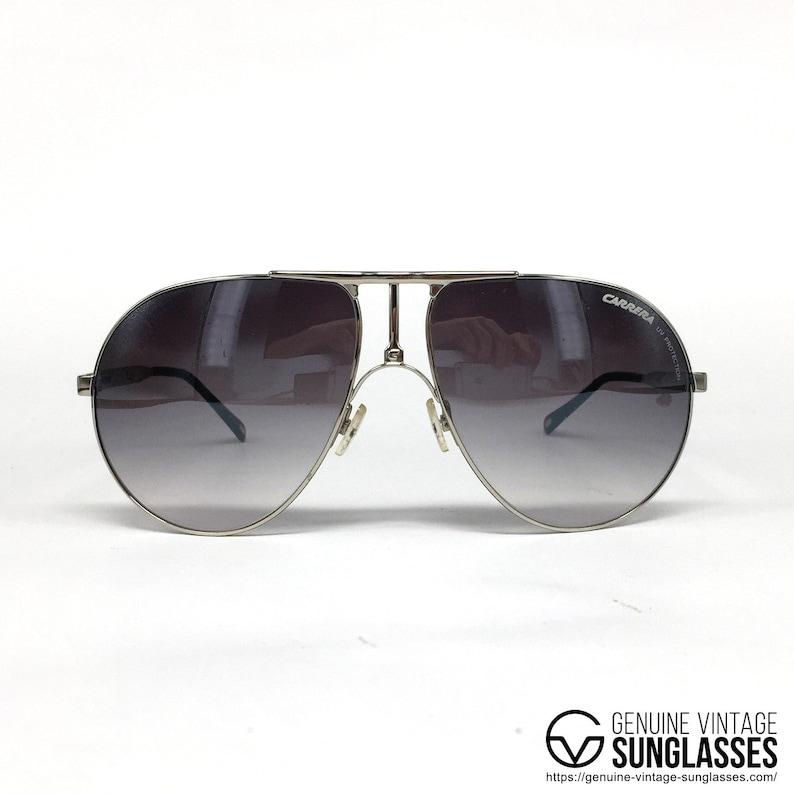 4ec8c525573 NOS Carrera 1 Silver vintage sunglasses Large