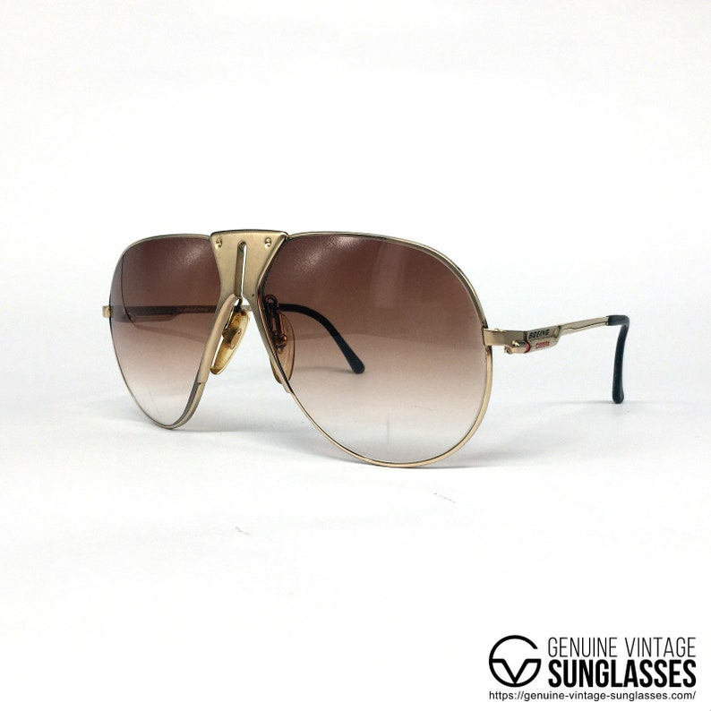7ce0a8f9a1 Boeing 5701 gold limited edition vintage sunglasses