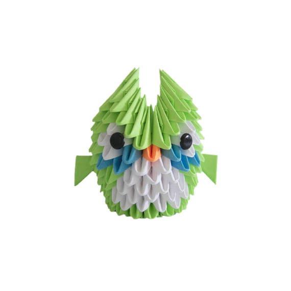 3D Origami Mini Owl