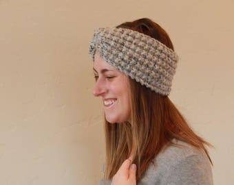 Knit Headband Head Wrap Ear Warmer Turban Δ The Lorelai Δ Color Options