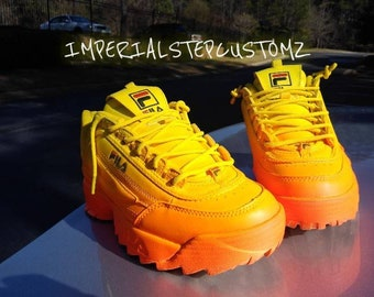 5373e8e88fb Fila disruptor(sunburst orange)