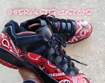 new product f63ad 5a2fa Jordan 11 (Bandana print)
