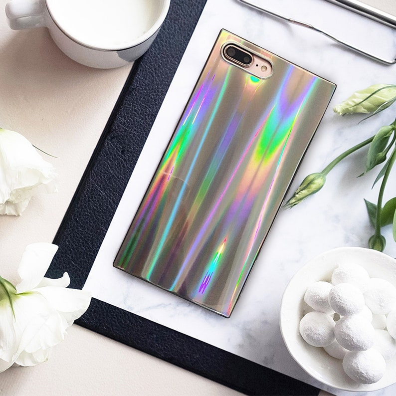 coque holographique iphone xr