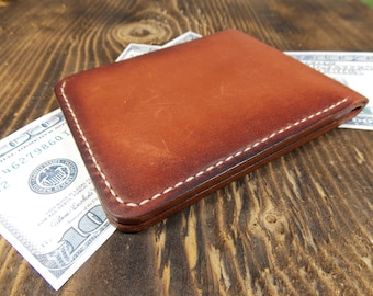 Slim leather wallet, Bifold leather wallet, Mini wallet, Leather minimalist wallet, Pocket wallet, Mens wallet, Leather wallet