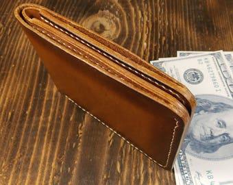 Leather minimalist wallet, Slim leather wallet, Bifold leather wallet, Mini wallet, Pocket wallet, Men's wallet, Leather wallet, Wallet slim