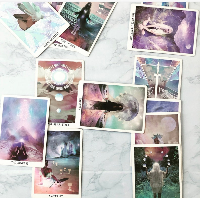 Tarot Spreads - Starchild Tarot: Love, Career, Year Ahead, Relationships,  Success & Obstacles, Past/Present/Future Readings