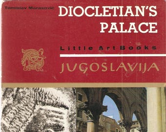 VINTAGE BOOK - Diocletian's Palace - A Little Art Book - Jugoslavia