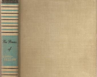 VINTAGE BOOK - The Complete Poetical Works of Longfellow, Cambridge Edition - Poetry
