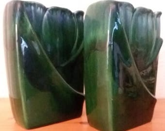 Matching set of Mid-Century Royal Haeger R651 Vases