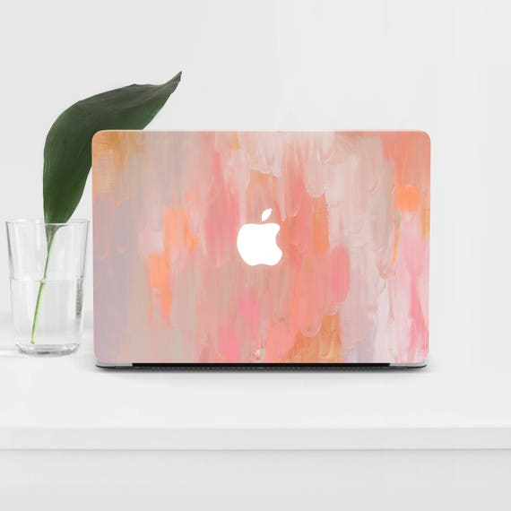 Paint Macbook Pro 15 2017 Hard Case Gift Laptop Air 13 Macbook Case Macbook  12 Laptop 11 Paintings Macbook Air 15 Paints Pink Mac Cover M25