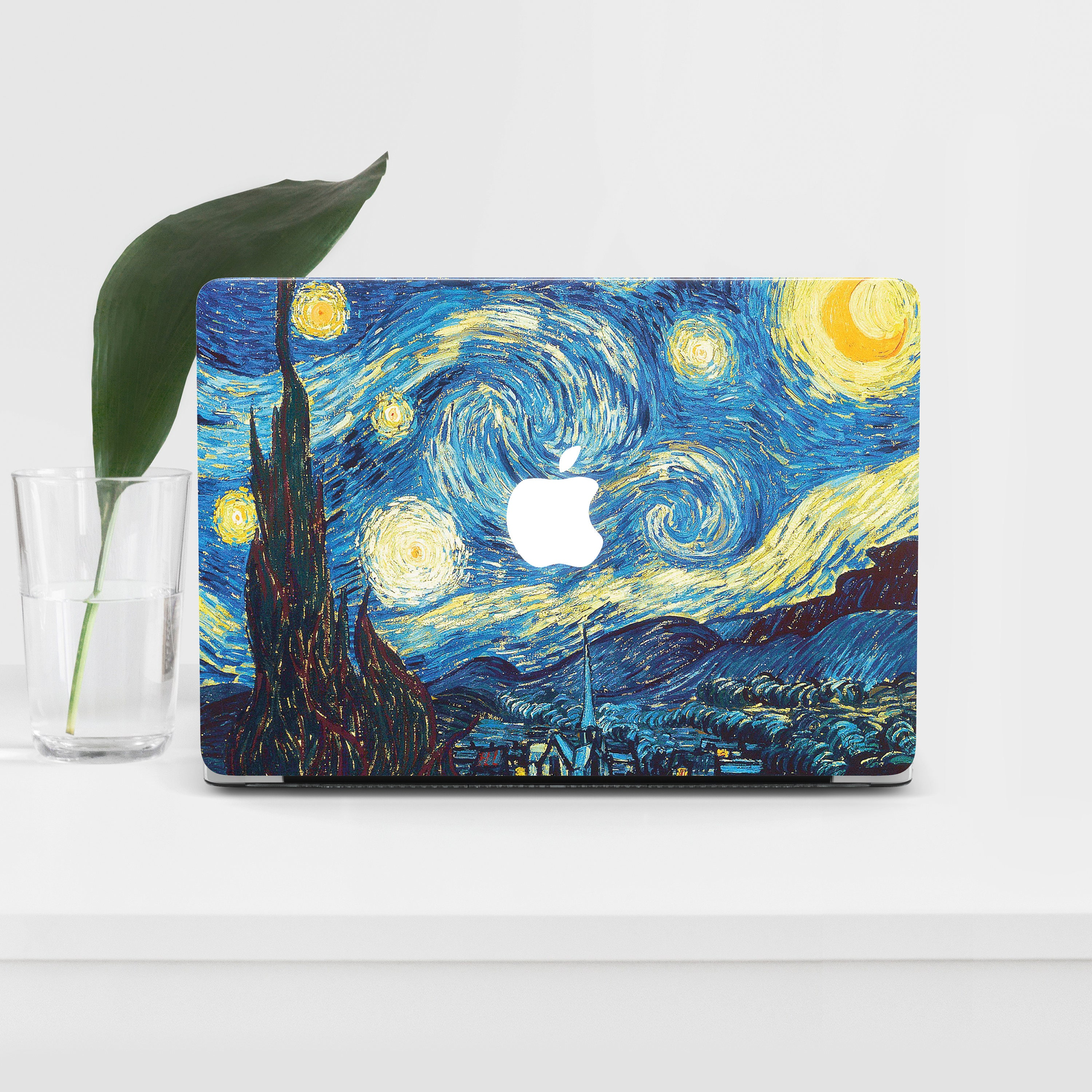 detailed look c4bd2 9d5ef Starry Night MacBook Pro 15 Case Van Gogh MacBook 13 Air Case MacBook Pro  Cover Picture Mac Case For Laptop Art MacBook Pro 13 Cover PM017