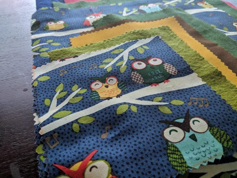 Fabric Bundle Owls