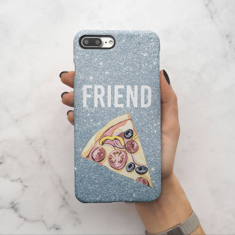official photos 0e947 f20e2 Pizza Food Friend Best Friends Girlfriend Matching Case Perfect Gift For  Birthday Protective Hard Case Cover For iPhone X iPhone XS Max  C95