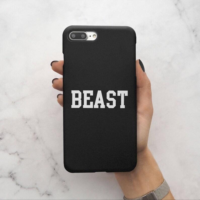 5c64eb7b1e Matching Every Beauty Needs A Beast Couple Boyfriends King | Etsy