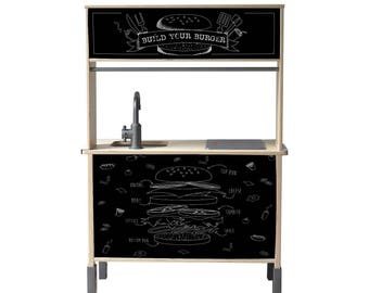 Set ' hamburger ' for children's kitchen from IKEA