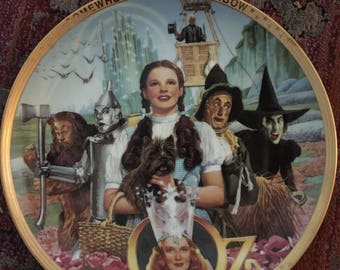 Wizard of Oz  50th Anniversary Commemorative Plate by The Hamilton Collection