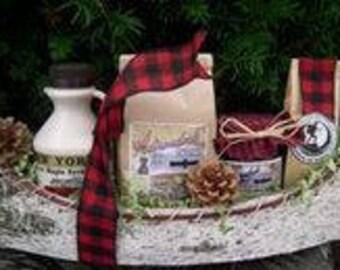 Birch Canoe Breakfast Gift Basket