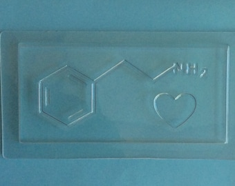 mold, chocolate, soap, Valentine's day gift, Valentine's Day, scientific gift, molecule, science, chemistry, chocolate, love,