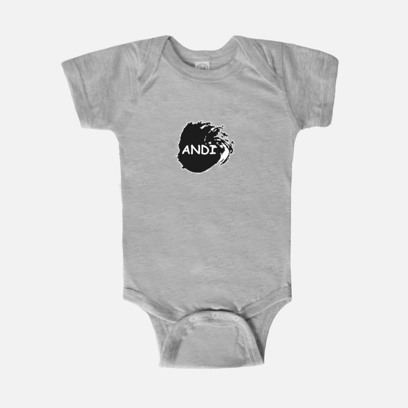 Baby Bodysuit one piece onesie Black /& White Your Child/'s Name newborn infant New Mom Christening Shower Birthday Christmas mothers Bris