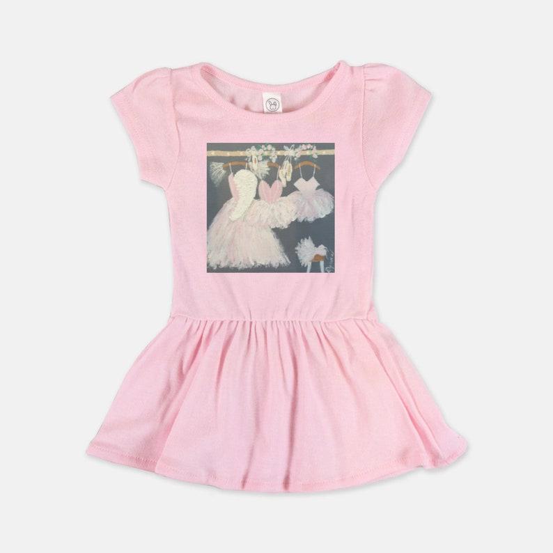 Gold Foil Dress Princess Sleeves Gold Print in Script Little Princess Dress White Dress Baby Girl Dress Toddler Ruffled Dress