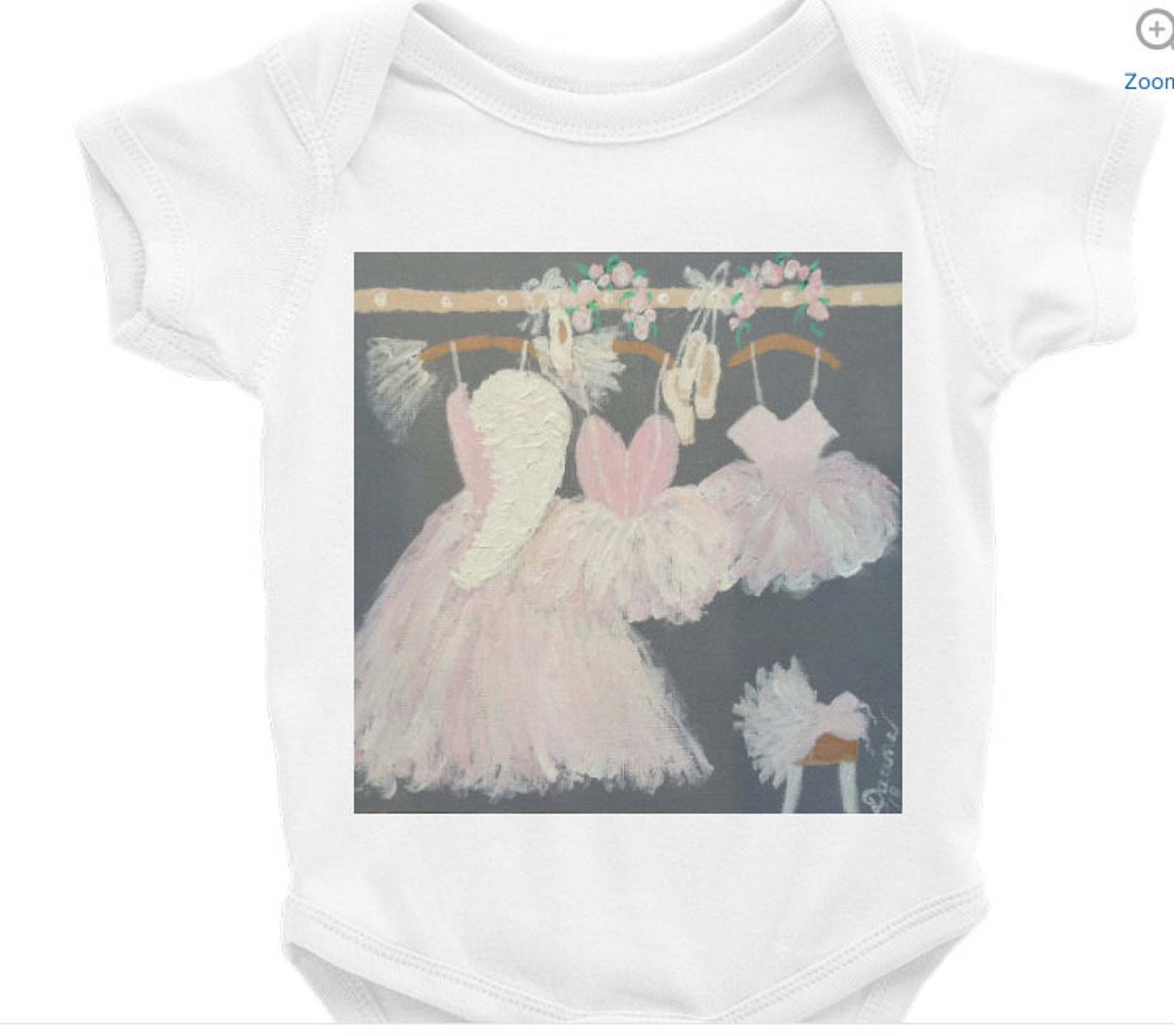 onesie bijou baby so suite ballet barre ballet shoes tutu dress skirt flower crown girl boy flowers pink white bodysuitdesigner