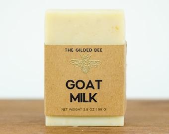 Organic Goat Milk Handmade Soap   Handmade Goat Milk Soap for Him/Her   Gifts for Boyfriend or Girlfriend   Soap for Hair, Hands & Feet