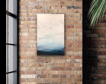 "Original, Encaustic, titled ""Just Breathe"" / Artist Michele Bruchet"