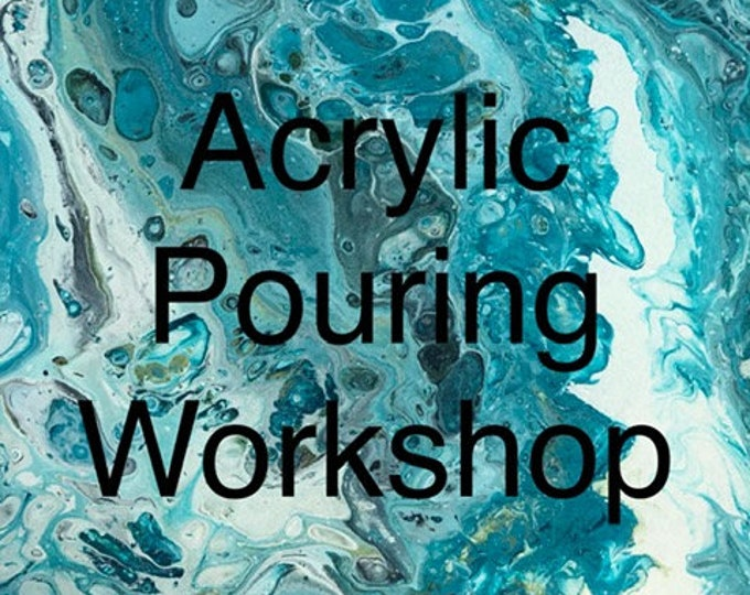 Gift Card - Acrylic Pouring Workshop