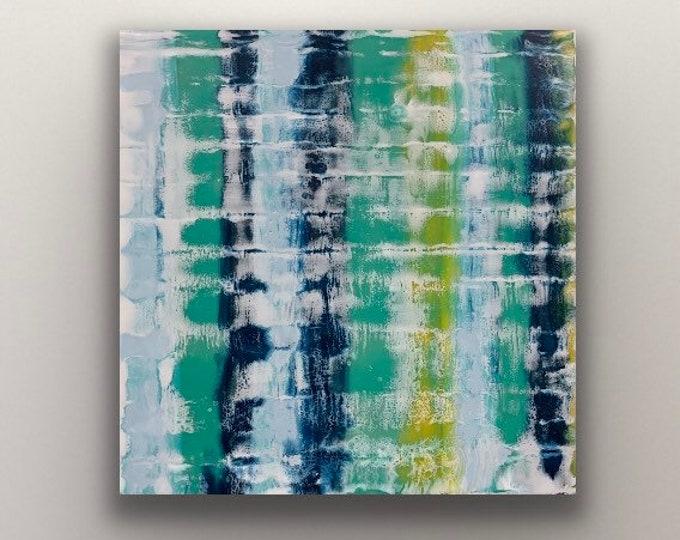 "Original encaustic titled ""Repetition""   / Artist Nikki Bruchet"