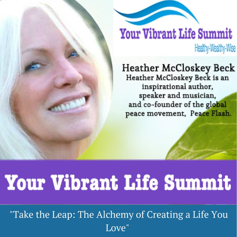 Vibrant Life Summit: Healthy, Wealthy, Wise PDF Mindset, Happiness,  Attitude, Personal Development, Self Help, DIGITAL DOWNLOAD