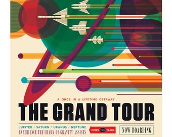 Beautiful NASA Posters: Visions of the Future