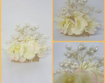 Jewelry for hair comb