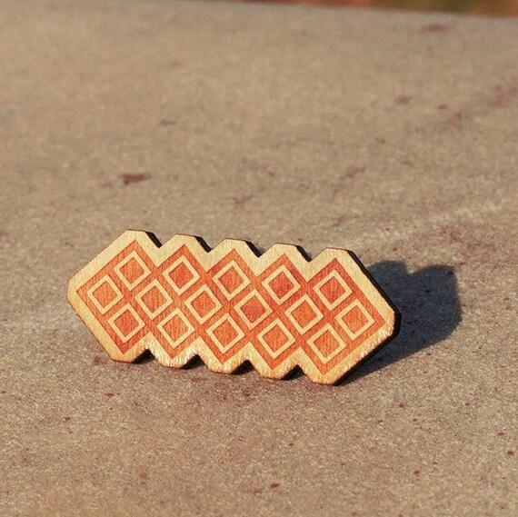 54fbea1af Igorot / Ancient Filipino design / Snake Wooden Pin | Etsy